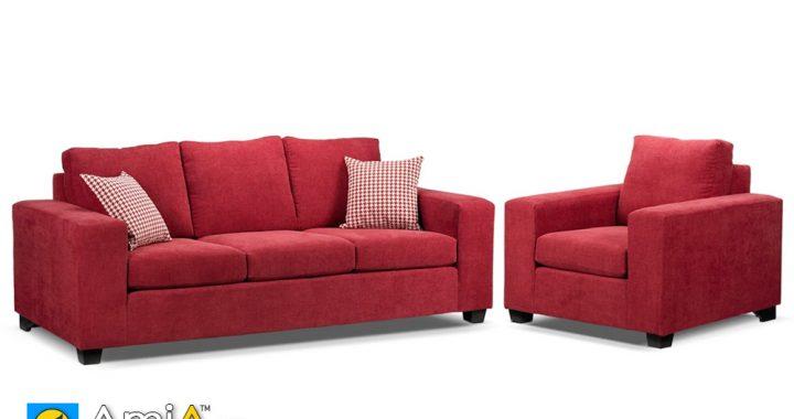 Bộ ghế sopha văng đẹp màu đỏ