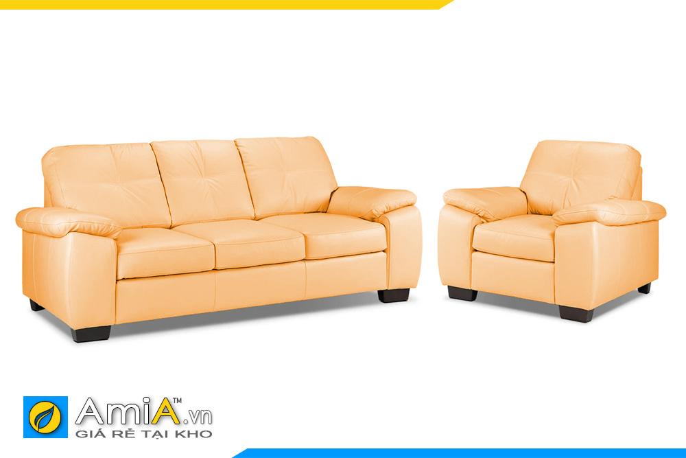 Ghế sofa màu vàng tươi