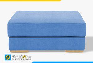 ghế đôn lớn sofa màu xanh