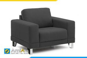 ghế sofa đơn đẹp màu đen