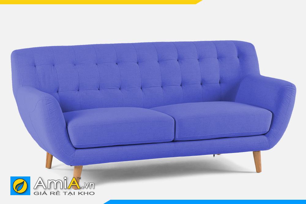 ghế sofa màu xanh dương AmiA 20119