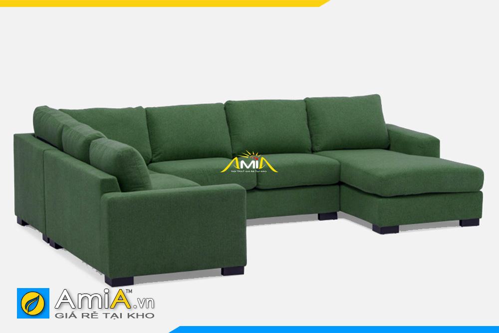 sofa kích thước lớn màu xanh rêu