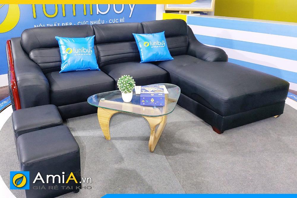 Bộ ghế sofa da cao cấp