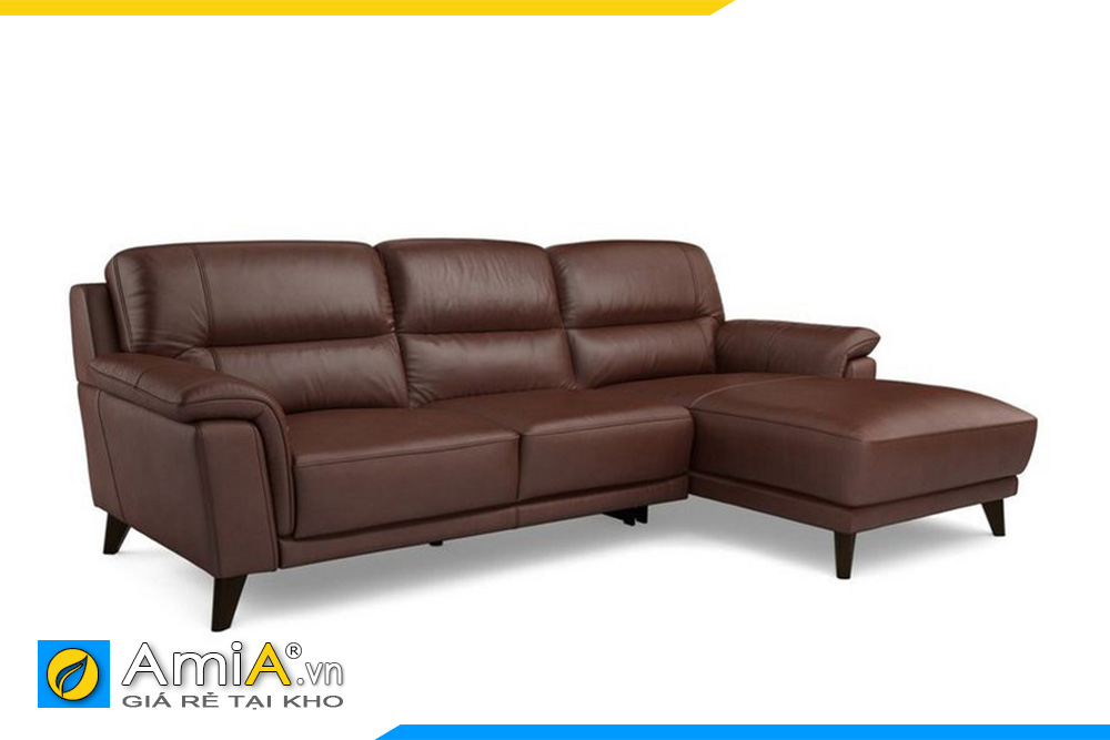 Ghế sofa đẹp màu socola