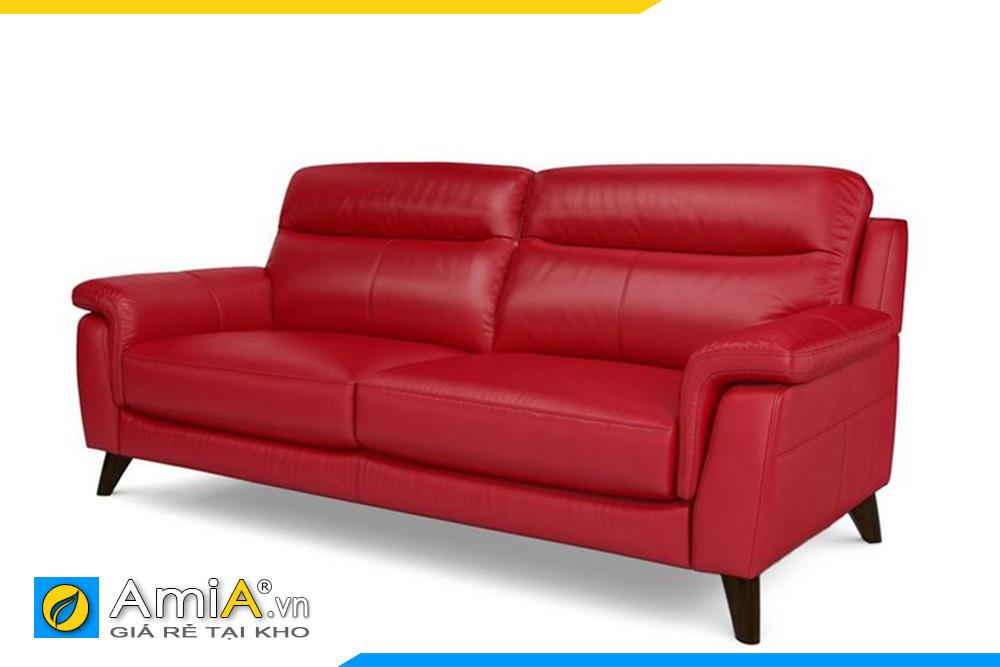 ghế sofa văng AmiA 20013 màu đỏ