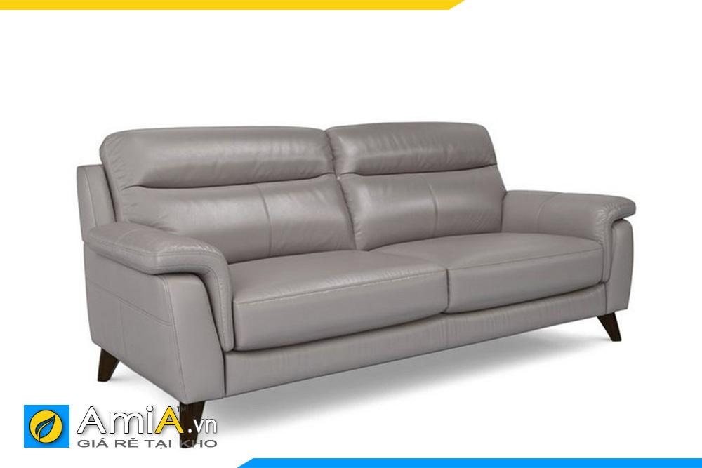 Ghế sofa văng da đẹp AmiA 20013