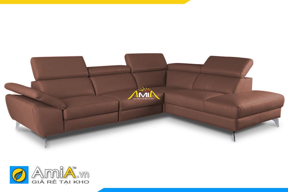 ghế sofa da đẹp hiện đại AmiA 20196