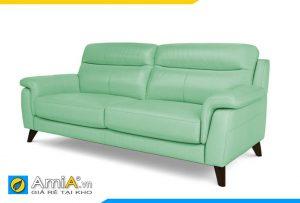 sofa đẹp màu xanh lá mạ
