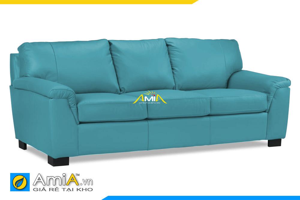 sofa phòng khách đẹp bọc da