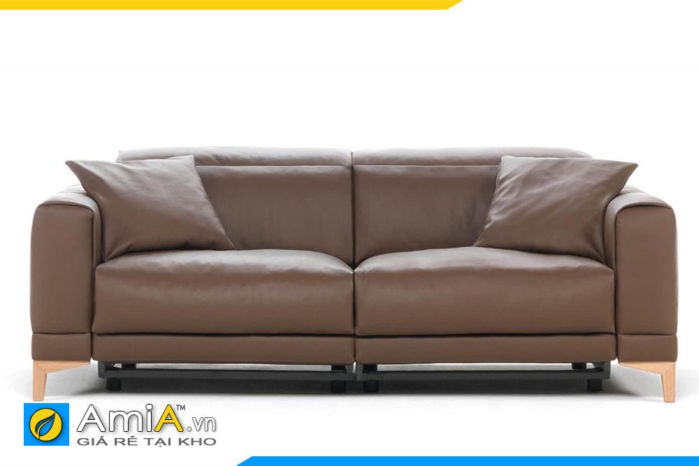 sofa màu nâu đất nhạt