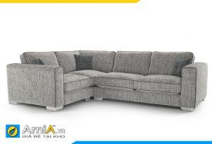 Ghế sofa nỉ màu ghi AmiA 20043