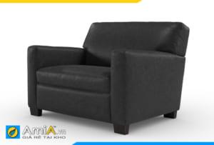 ghế sofa đơn đẹp màu đen AmiA 20906