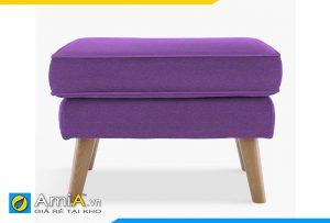 sofa đơn đẹp chân gỗ cao