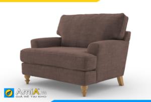 ghế sofa đơn AmiA 20905 màu nâu