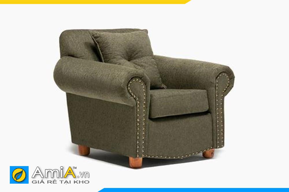 ghế sofa đơn kiểu tân cổ điển AmiA 20904
