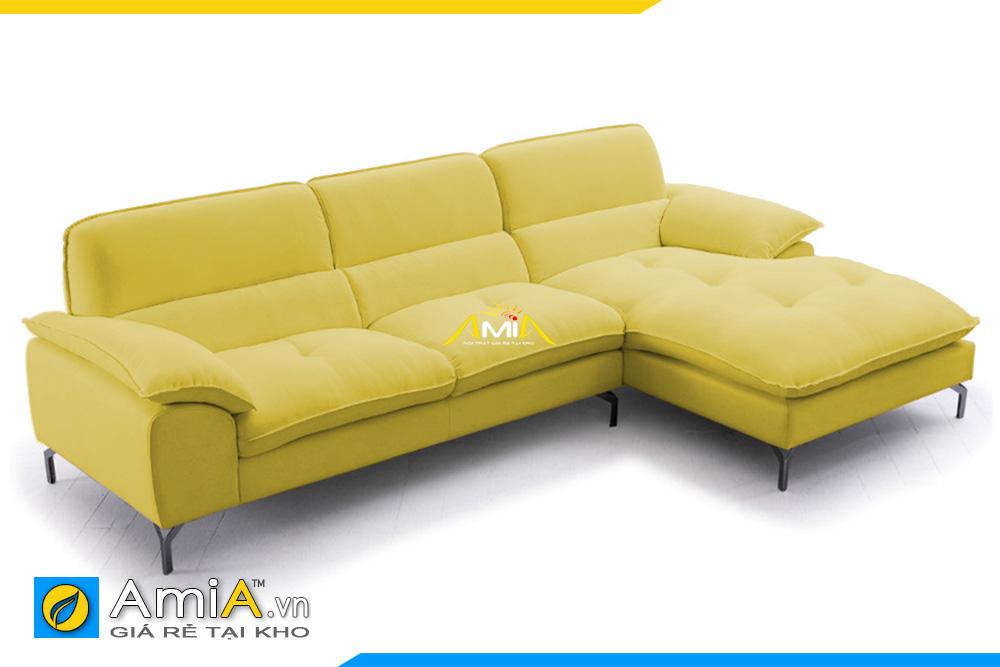 sofa góc chữ L nhỏ xinh AmiA 20223