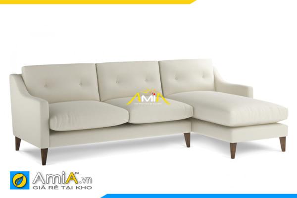 ghế sofa góc nỉ vải nhỏ gọn