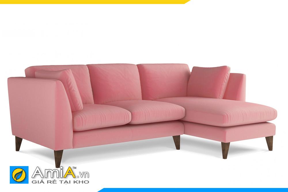 sofa góc L giá rẻ bọc nỉ