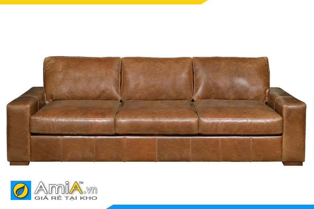 sofa màu da bò đẹp giá rẻ