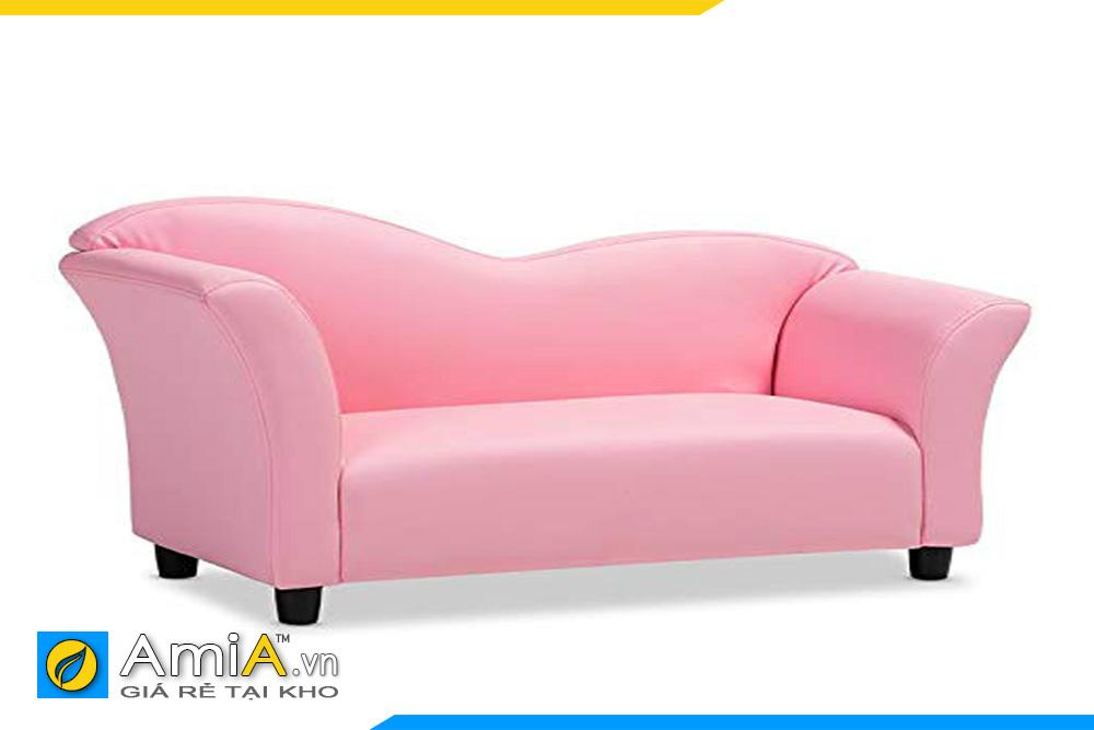 ghế sofa thiết kế đẹp màu hồng