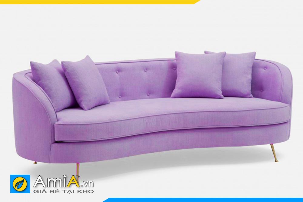 Mẫu sofa văng đẹp màu tím