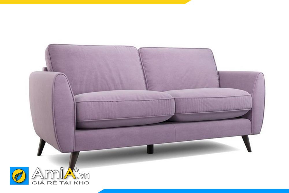 Sofa 2 chỗ ngồi màu tím