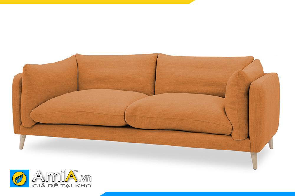 sofa màu vàng nhỏ mini