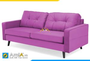 ghế sofa mini đẹp màu tím AmiA 20213