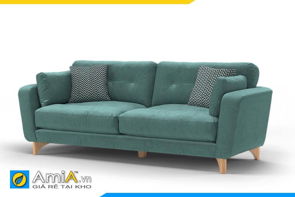 sofa văng nỉ nhỏ mini AmiA 20039