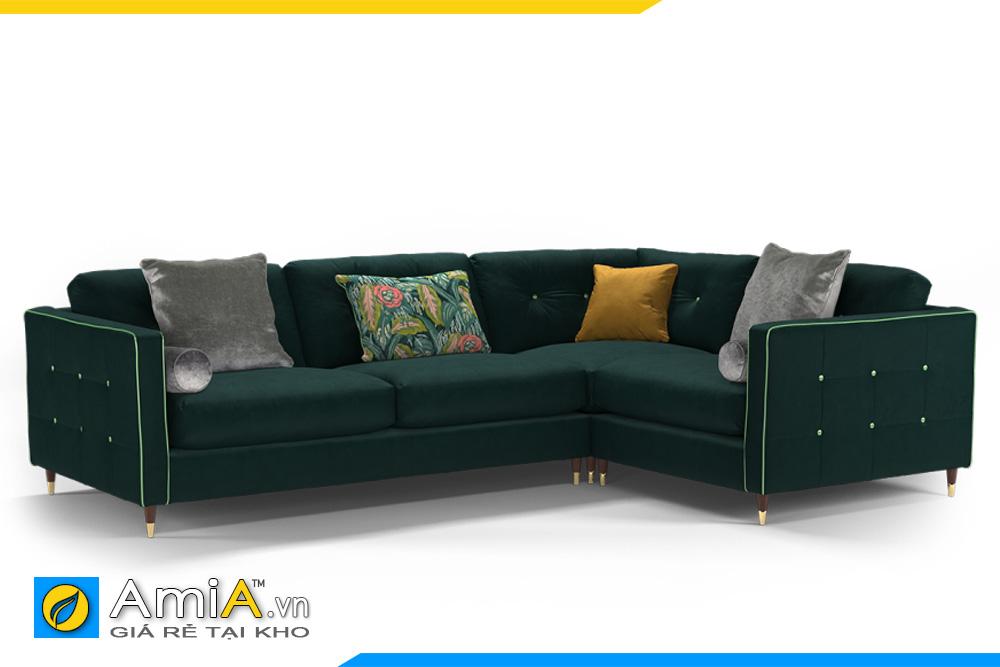 sofa màu xanh lục đậm đẹp