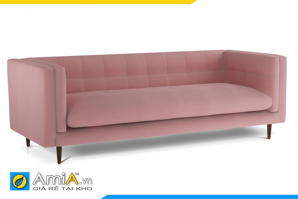 sofa văng dài đẹp màu hồng AmiA 20100