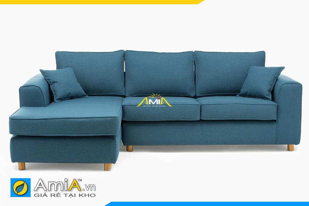 ghế sofa nỉ màu ghi xanh đẹp