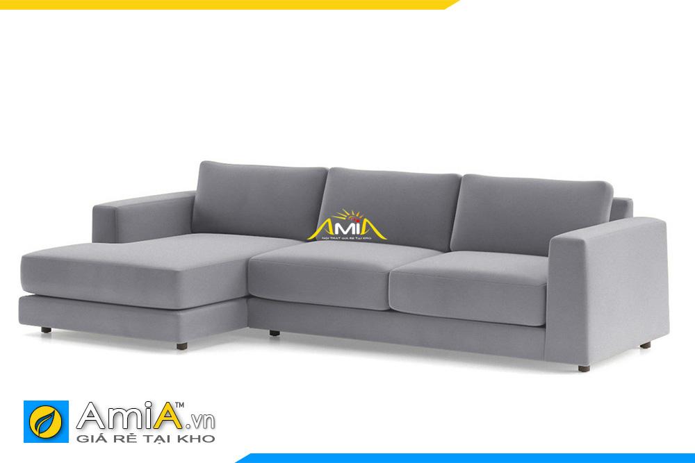 ghế sofa nỉ giá rẻ màu ghi