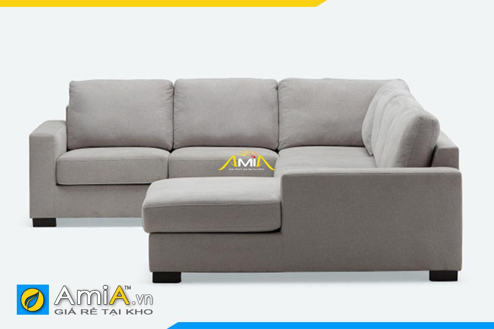 Hình ảnh mặt bên ghế sofa chữ U