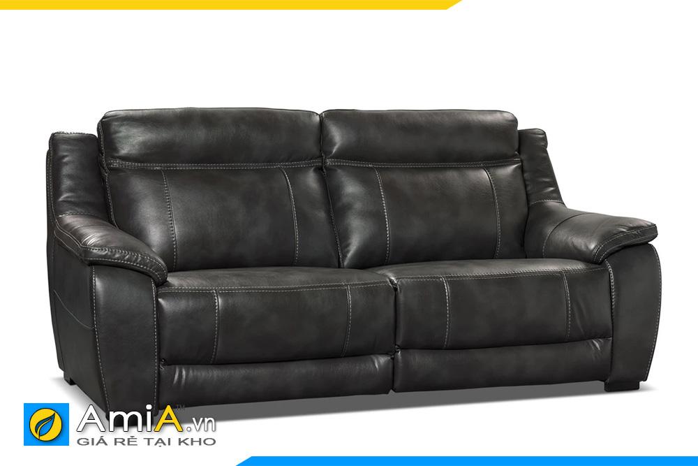 sofa phòng giám đốc màu đen