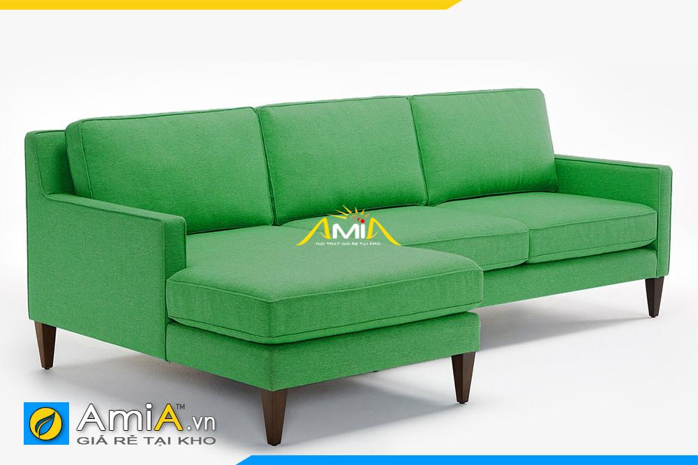 sofa phòng khách màu xanh lá cây AmiA 20193