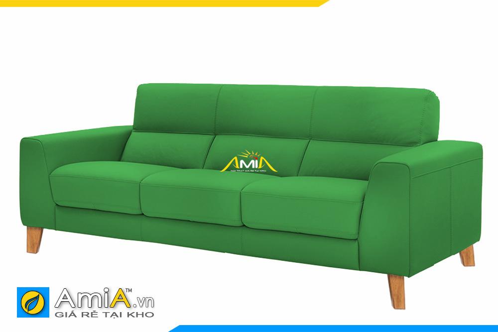 ghế sofa nhỏ đẹp màu xanh lá cây