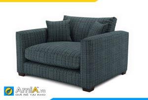 sofa phòng ngủ chất liệu nỉ