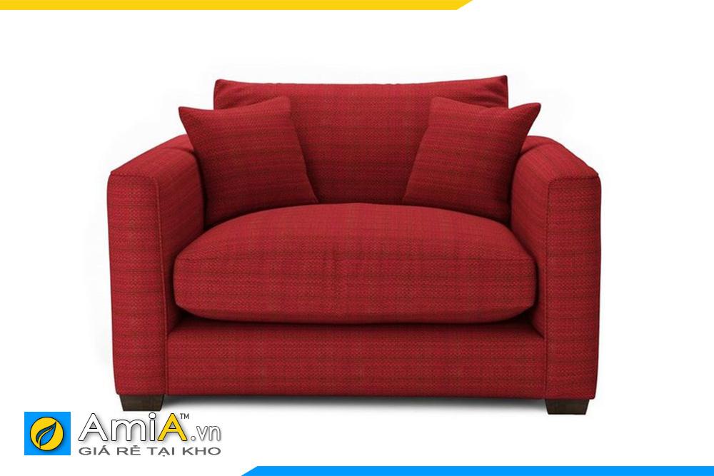 sofa phòng ngủ vợ chồng trẻ màu đỏ