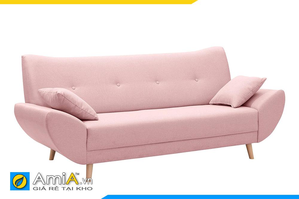 sofa đẹp màu hồng phai