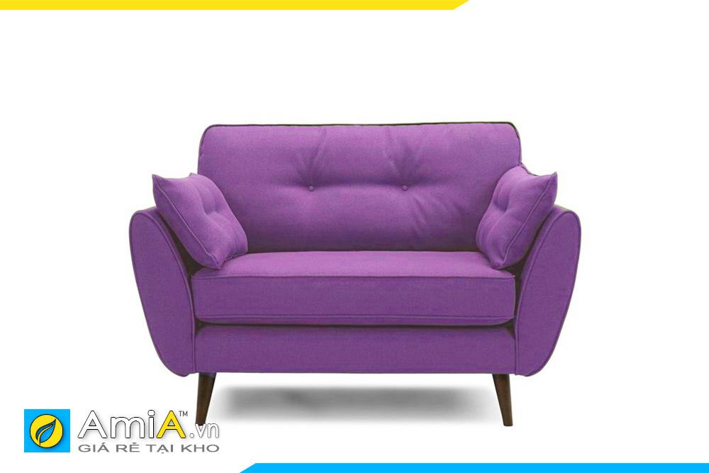 Ghế đơn màu tím 1 chỗ ngồi