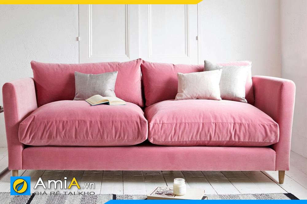 Sofa màu hồng đậm đẹp
