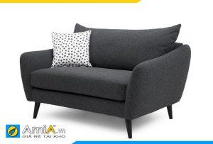 sofa phòng ngủ màu ghi sẫm
