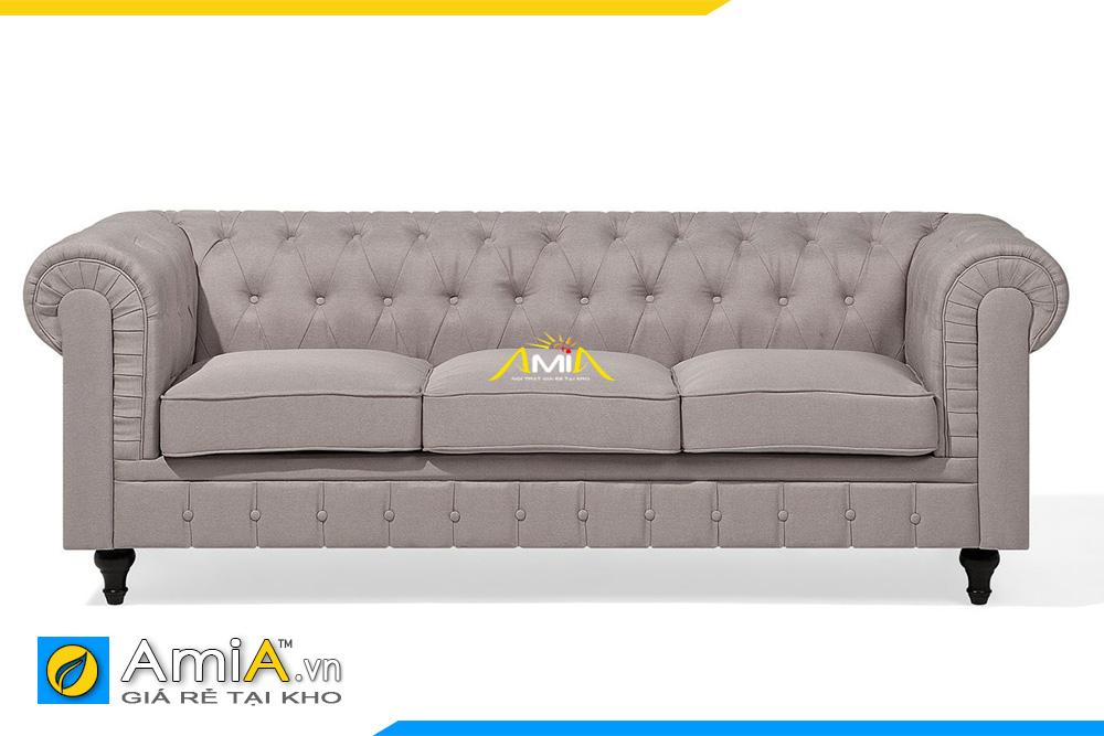 sofa văng 3 chỗ tân cổ giá rẻ