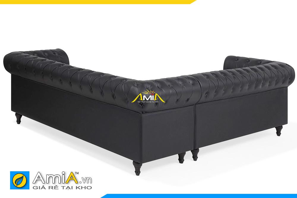 mặt sau ghế sofa tân cổ điển