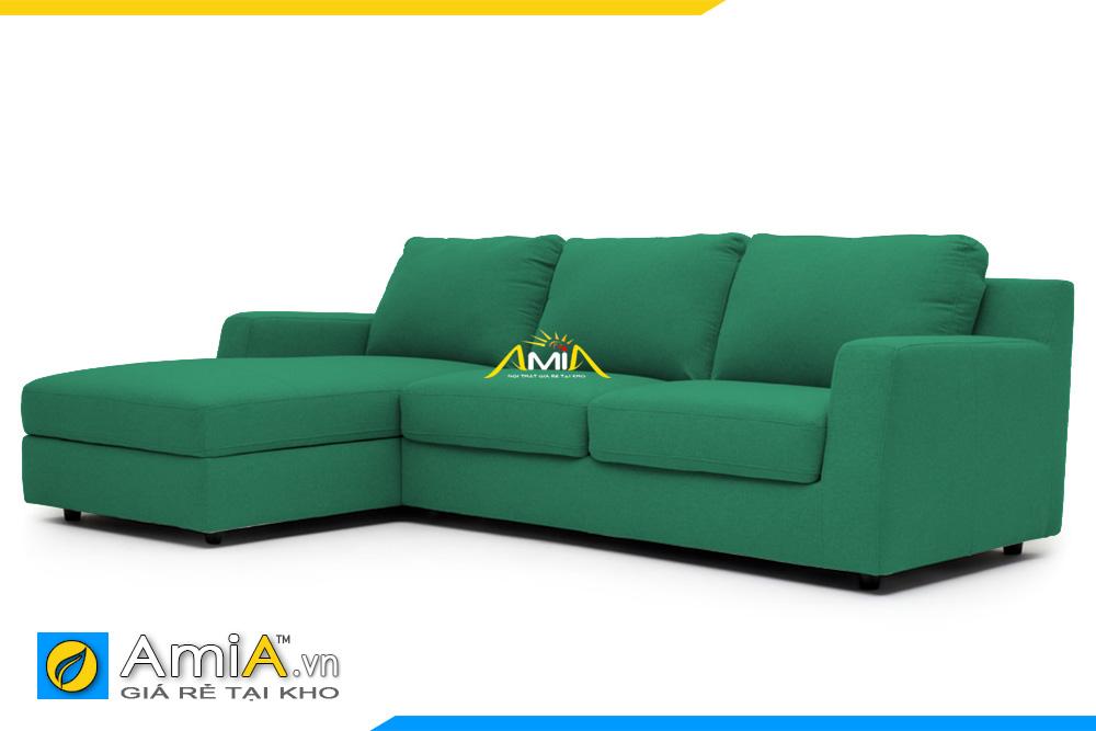 mẫu ghế sofa vải nỉ đẹp AmiA 20227