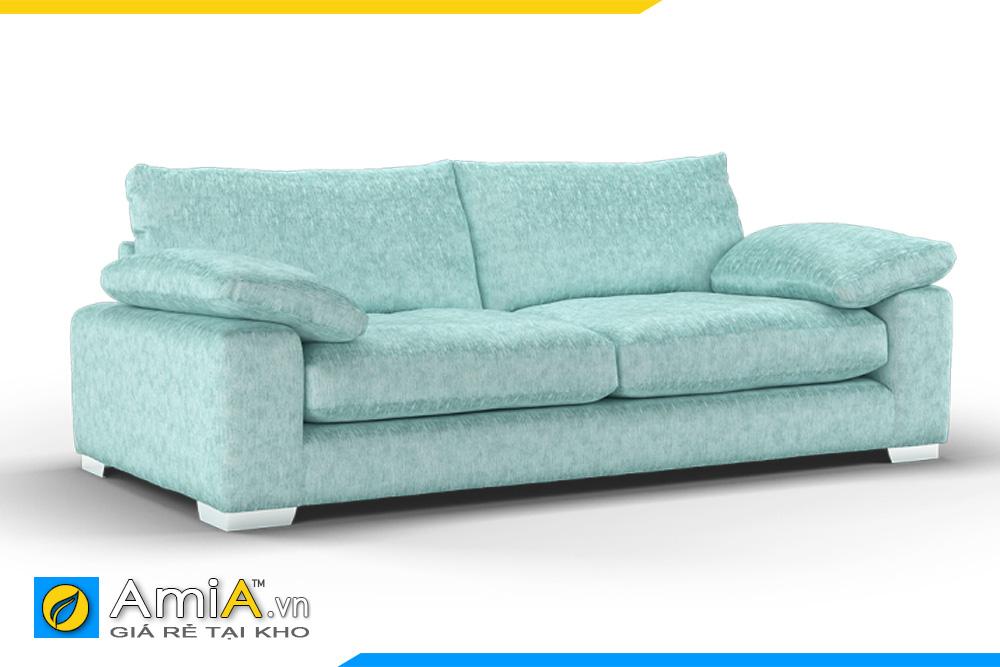 sofa 2 chỗ màu xanh AmiA 20035