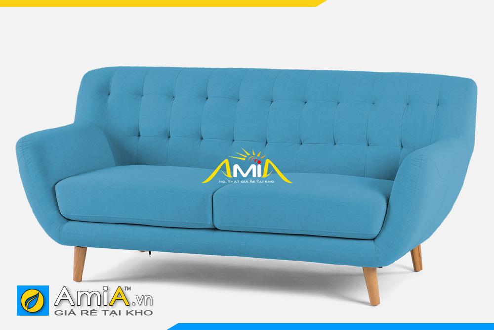 ghế sofa nhỏ đẹp màu xanh lam