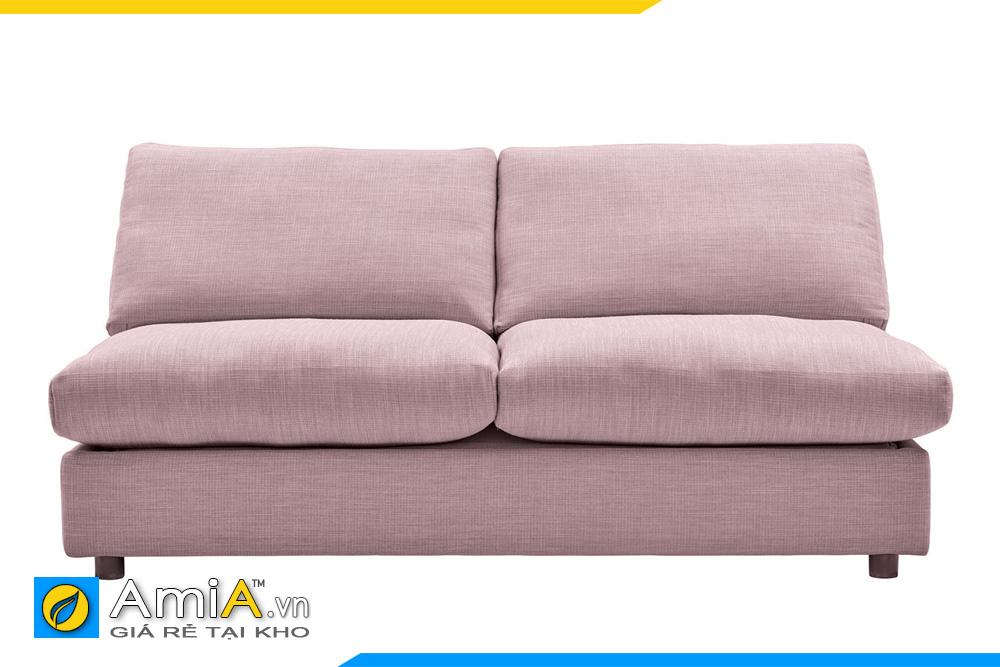 sofa văng 2 chỗ không tay vịn