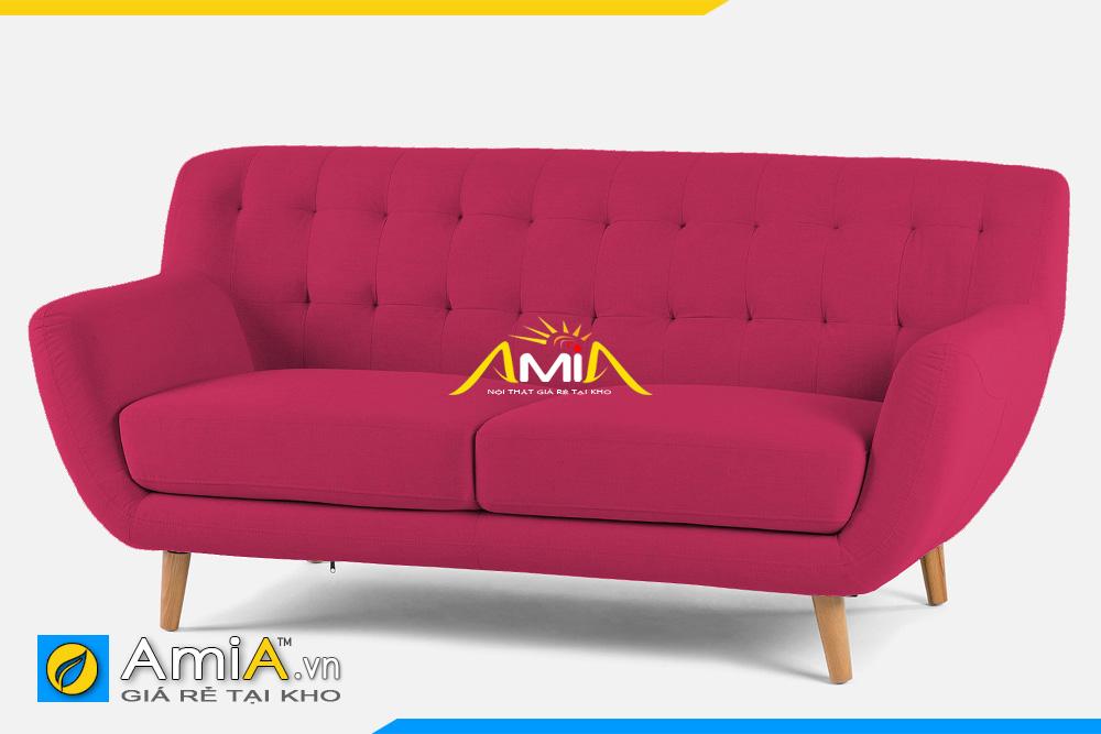 sofa màu đỏ 2 chỗ ngồi